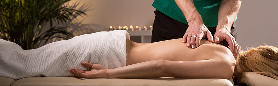 aromatherapy massage full body and back